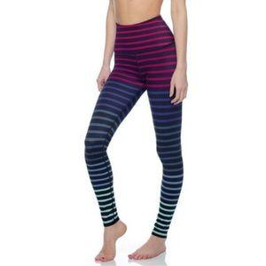 Beyond Yoga multicolor striper Jolie leggings XS